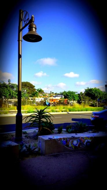 Solana Beach - Light Post