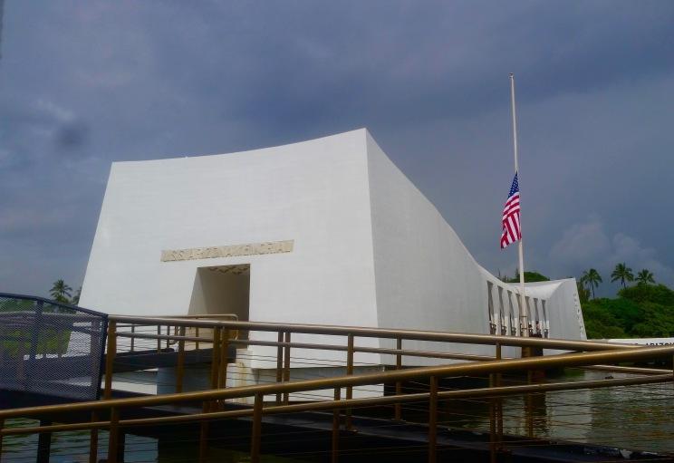 USS Arizona Memorial.
