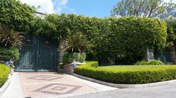 Gates to Jay Leno's House