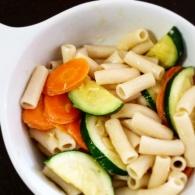 Zucchini & Carrot Lemon Pasta