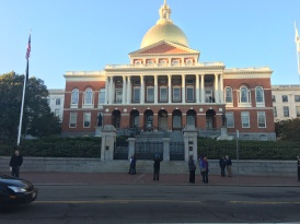 The State House. Start of the Freedom Trail.