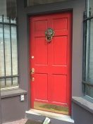 Love Love Love these red doors!
