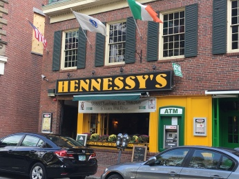 Hennessy's live music drew us in